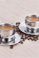 Cafe Culture Cappucino Cup/Saucer S/2