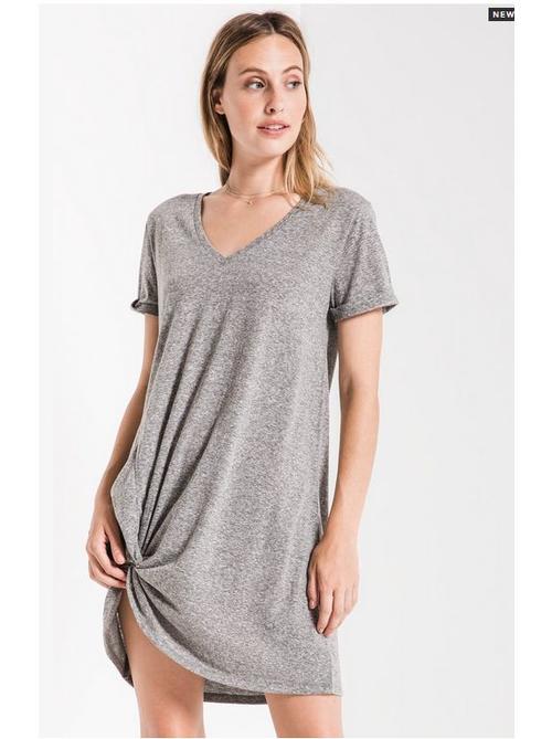 Triblend Sideknot Dress