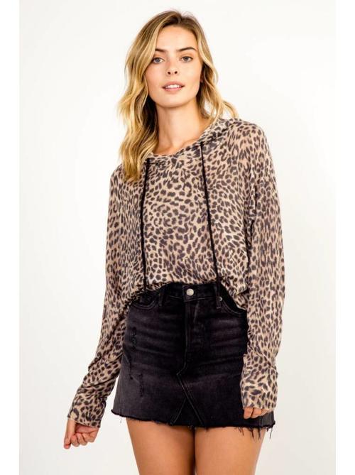 Leopard Hoodie - 88-170LTL