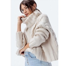 James Chunky Cable Sweater
