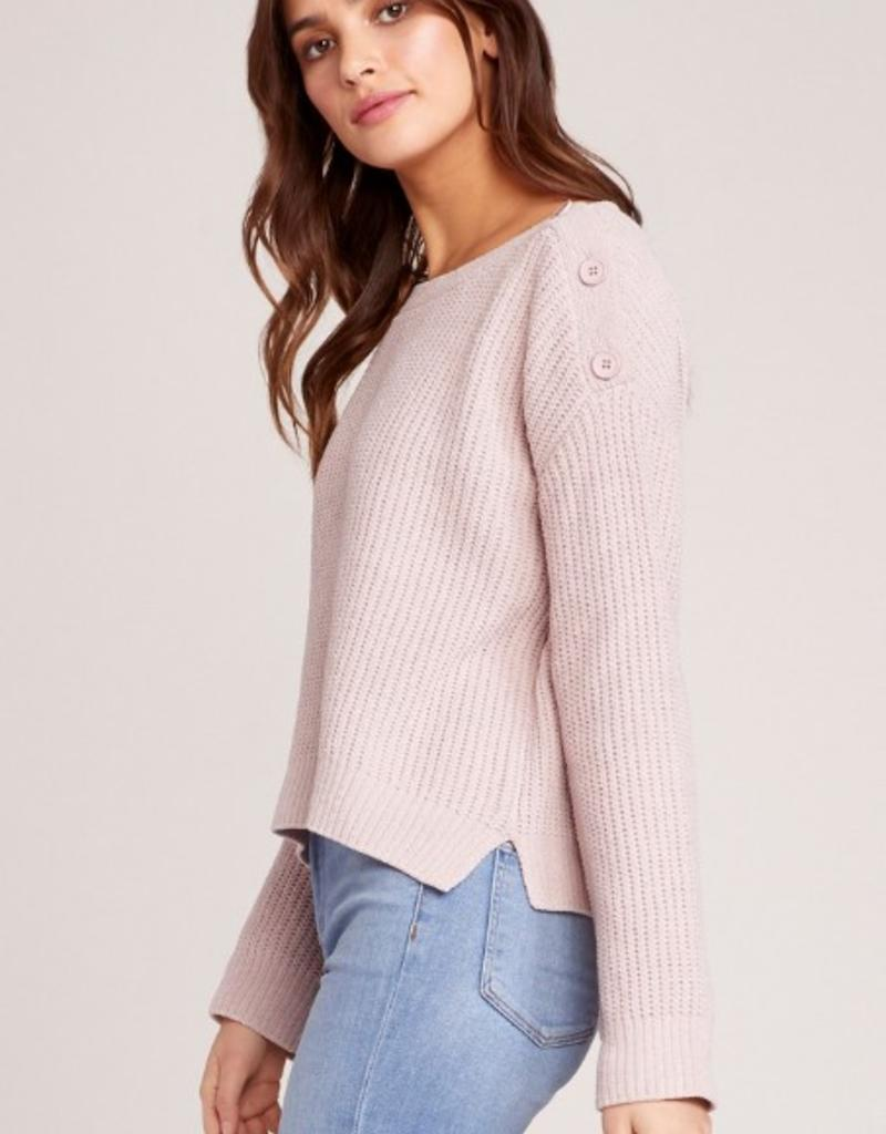 Chenille Before Me Button Sweater