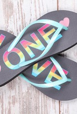 One Love Flip Flops
