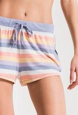 Rainbow Stripe Short
