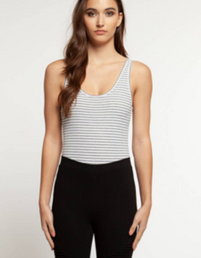 Mix Stripe Body Suit