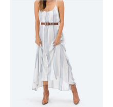 Deisy Striped Maxi Dress-