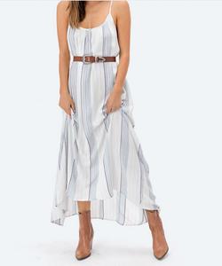 Deisy Striped Maxi Dress