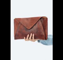 Alessa Leather Envelope Clutch