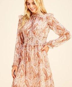 Penny Paisley Dress