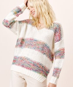 Allie Stripped SweateR