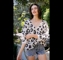 Mohair Leopard Pulloever