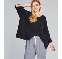 Oversized Chenille Pullover