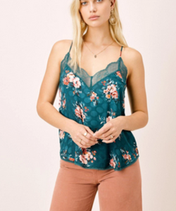 Watercolor Lace Cami