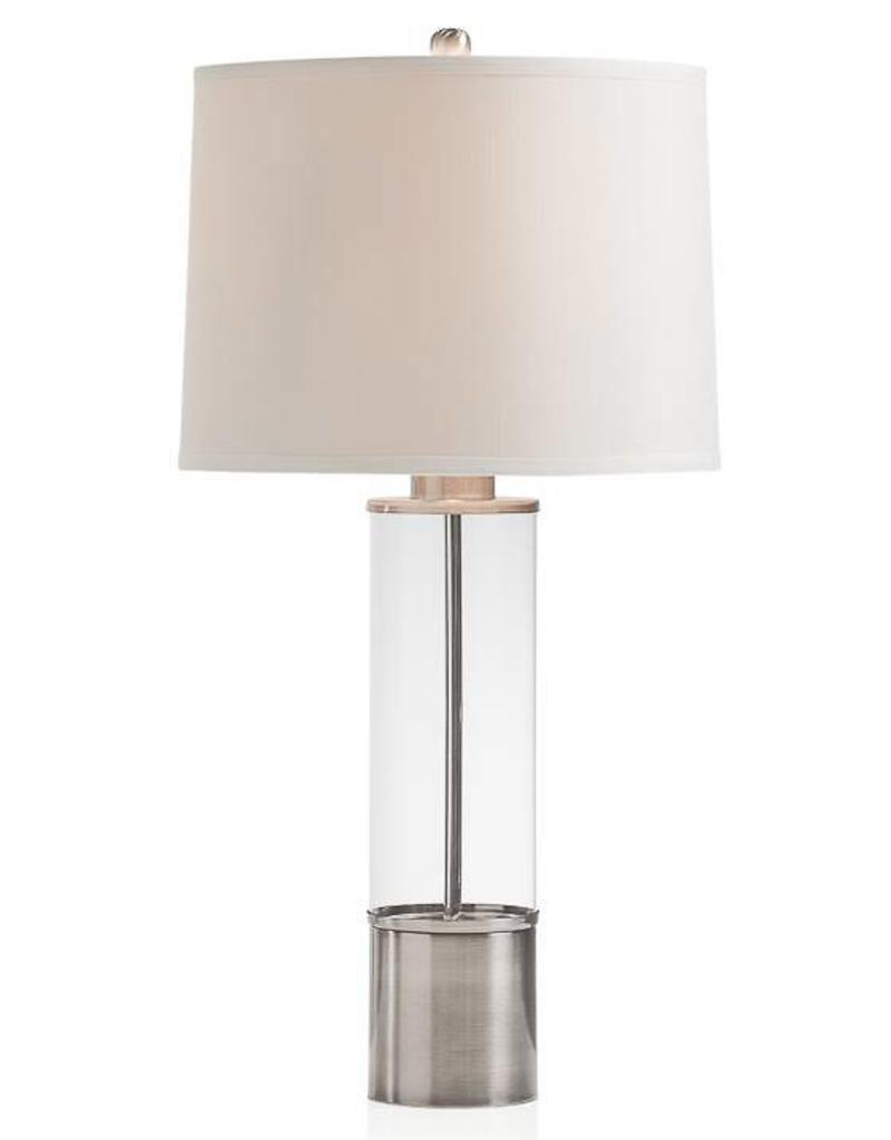 Torre & Tagus Column Glass Cylinder Lamp
