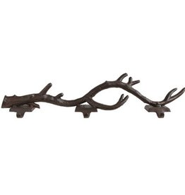 Creative Co-op Cast Iron Branch Stocking Holder