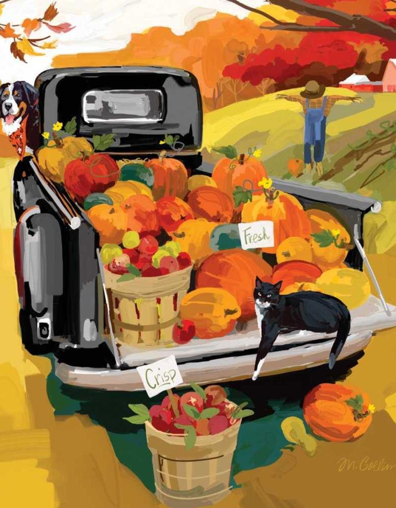 Paper Products Design Noah's Harvest Beverage Napkin