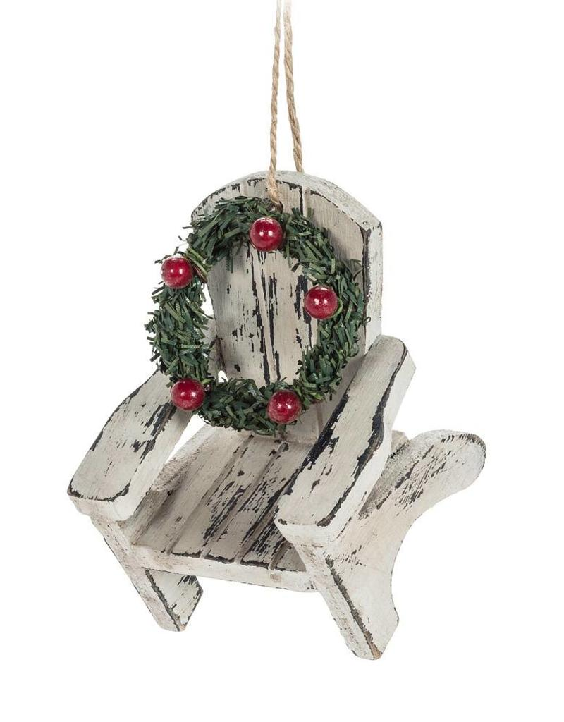 Abbott Cottage Chair with Wreath Ornament