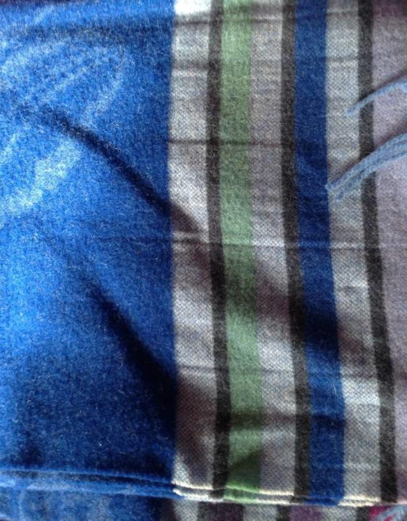 Designers Guild Merino Lambs Wool Throw Cobalt