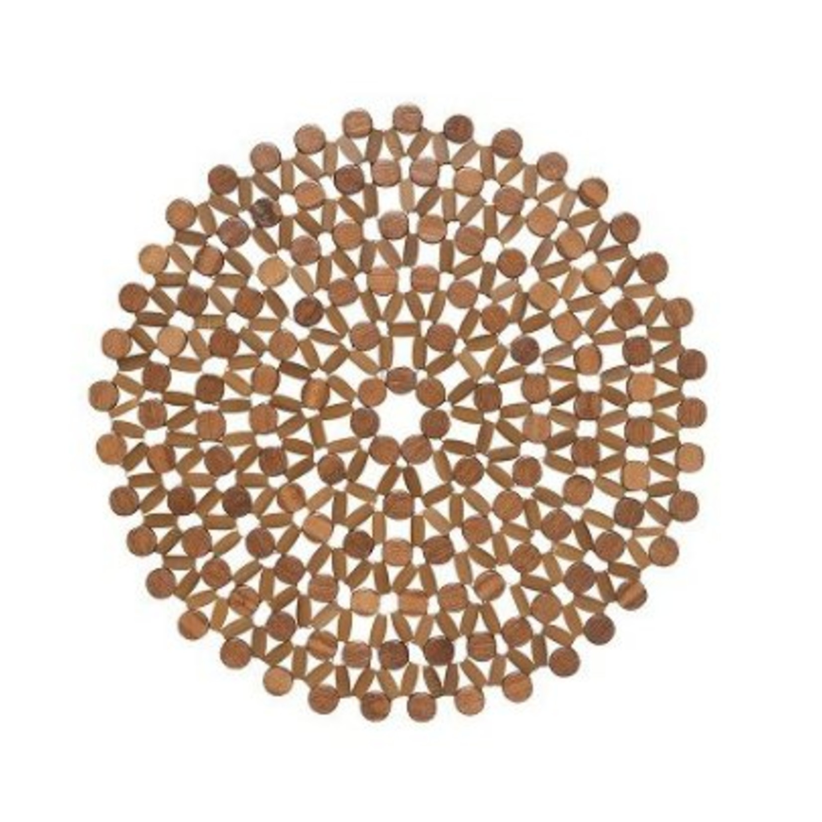 Danica Azores Brown Round Placemat