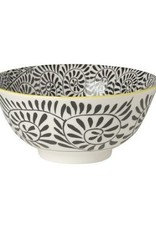 Danica Stamped Bowl - Black