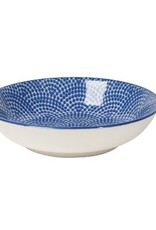 Danica Blue Waves Dip Bowl
