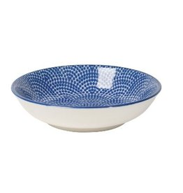 Danica Dip Bowl - Blue Waves