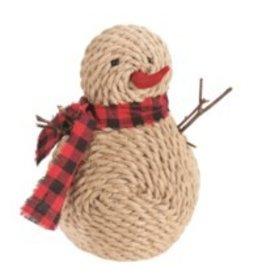 Candym Snowman - Jute/Scarf