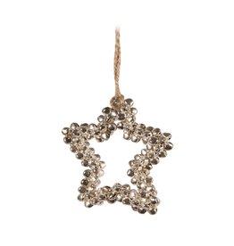 Candym Silver Mini Bells Star Ornament