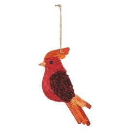Candym Red Carninal Ornament