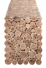 Candym Wood Rounds Runner, 72""