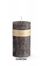 "Vance Kitira Timber Candle, 3.25x3"" Charcoal"