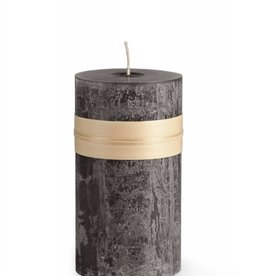 "Vance Kitira Timber Candle, 3.25x3"" Charcoal"