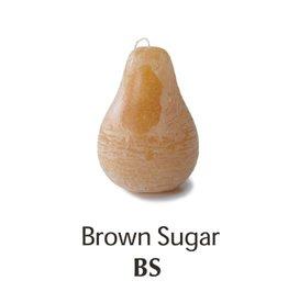Vance Kitira Timber Pear Candle, Brown Sugar