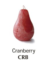 Vance Kitira Timber Pear Candle, Cranberry