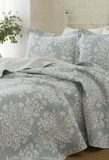 New New Horizons Adela Blue King Quilt & Shams