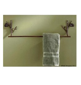 Park Design Pine Lodge Towel Bar 24""