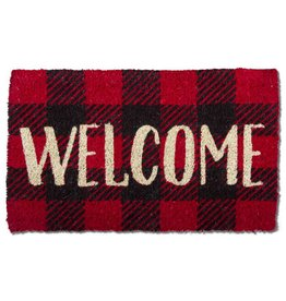 Tag ltd Welcome Check Door Mat - 30x18
