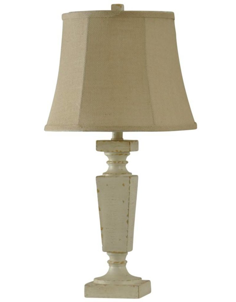 Style Craft Home Collection Accent Lamp in Palma Cream