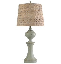 Style Craft Home Collection Basilica Sky Traditional Table Lamp