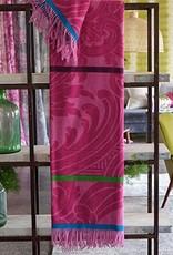 Designers Guild Merino Lambs Wool Throw Fuchsia