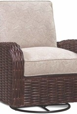 Braxton Culler Honey Wicker Chair