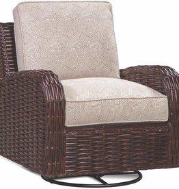 Braxton Culler Honey Wicker Chair