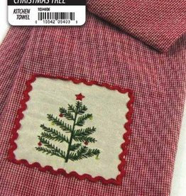Michaelian Christmas Tree Dish Towel