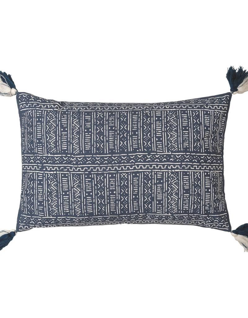 C&F Enterprises Cyrus Indigo Pillow