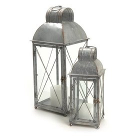 ADV Small Galvanized Lantern