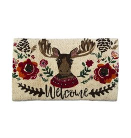 Tag ltd Happy Moose Coir Mat
