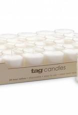 Tag ltd 24-HR Votive Candle - White