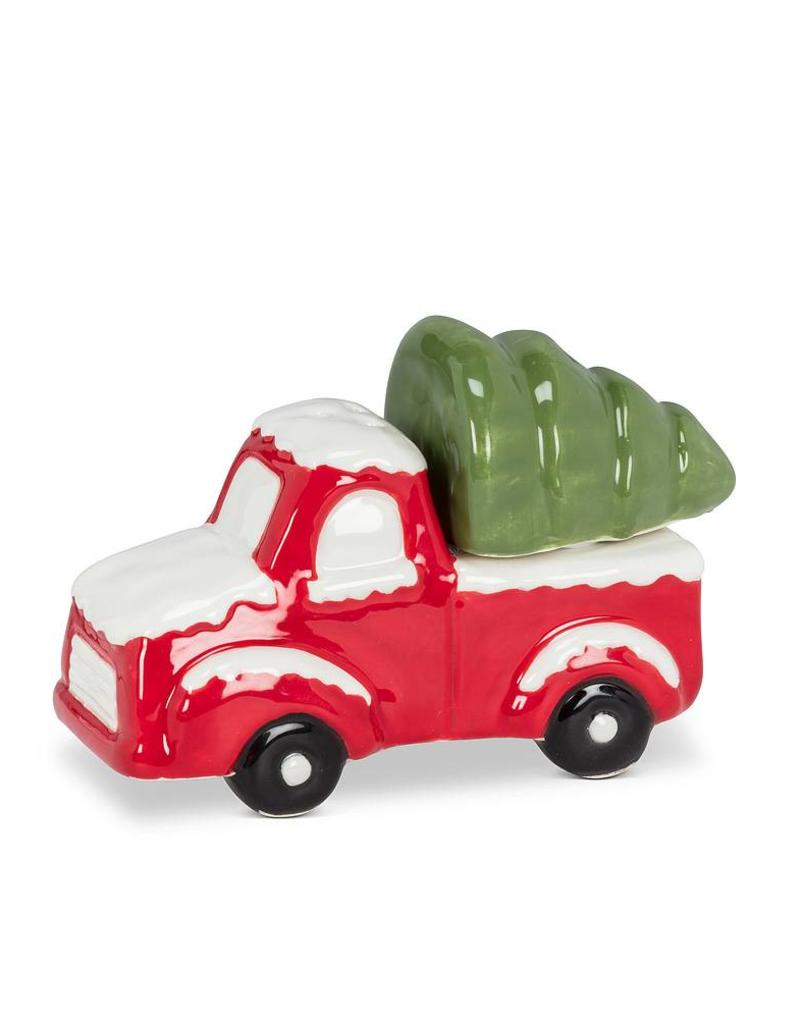 Abbott Truck with Tree Salt & Pepper Shakers