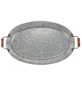 Mudpie Tin Tray with Handles