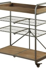 Style Craft Home Collection Folding 4 Tier Cart