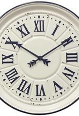 Style Craft Home Collection Indigo Farmhouse Clock